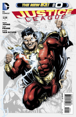 Cover for Justice League #0 (2012)