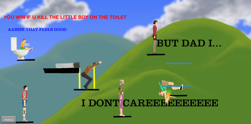how to make levels on happy wheels