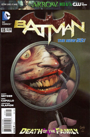 Cover for Batman #13 (2012)