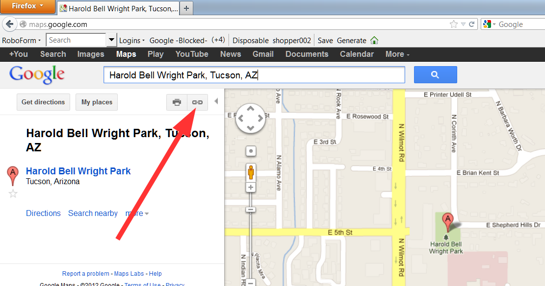 how to add a google static map to your website