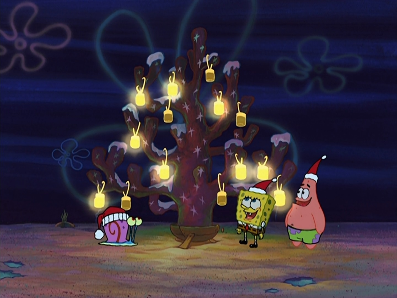 christmas who chrisspongebob christmas tree - Spongebob Christmas Who