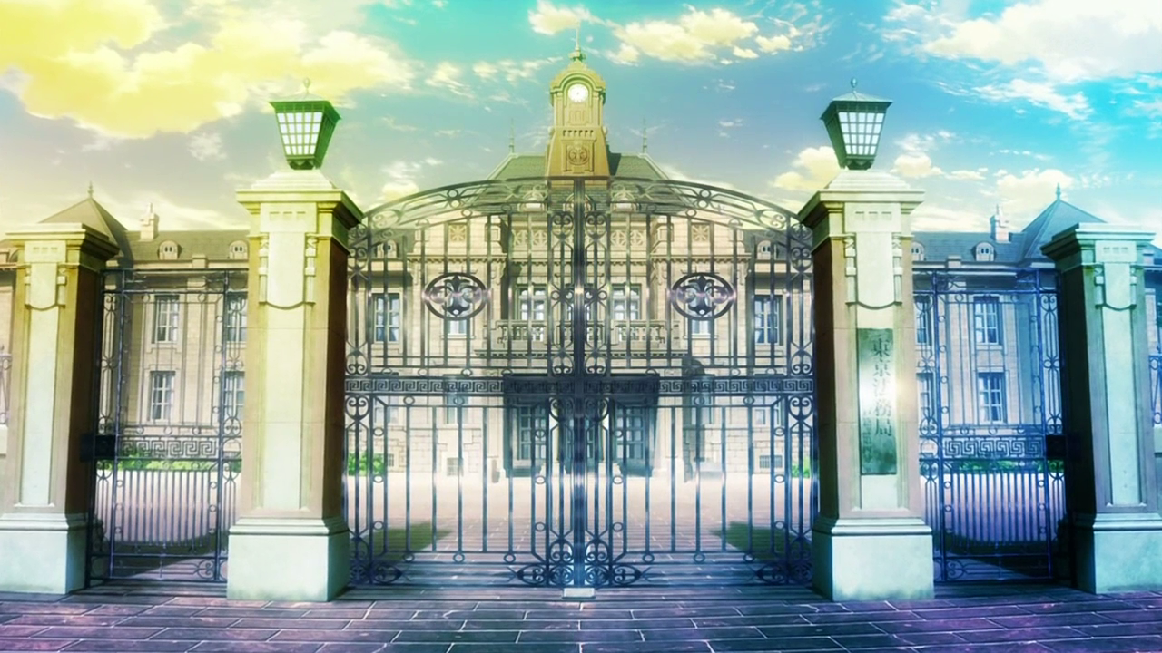 Anime School Building - Bing images Anime School Front
