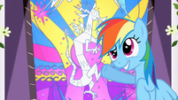 Rainbow Dash 'Alright, Princess!' S2E1