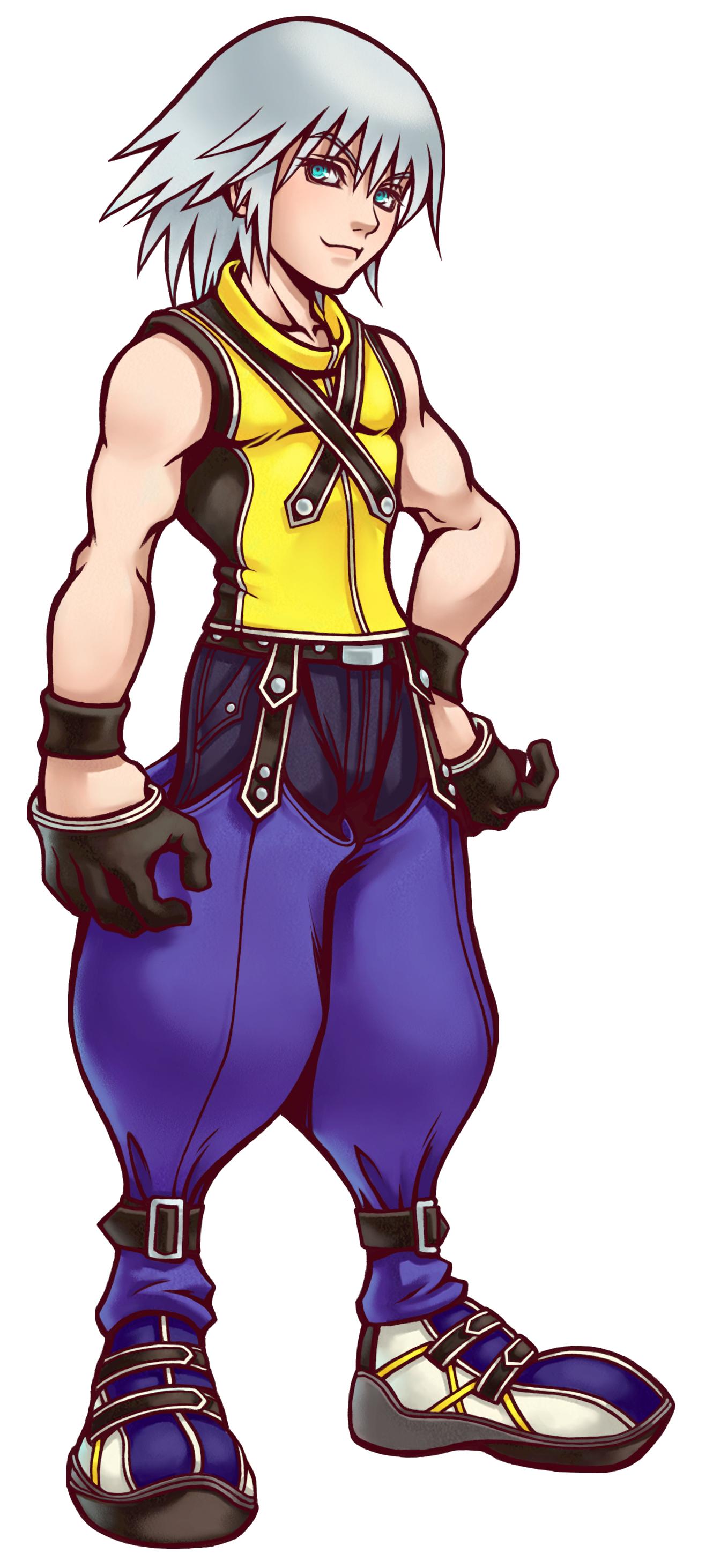 Résumé des Kingdom Hearts par ordre chronologique Artwork_Riku_KH