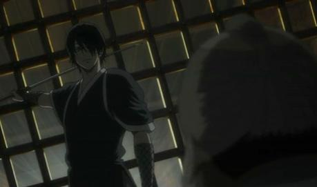 Takasugi moments before killing Tokugawa Sada Sada