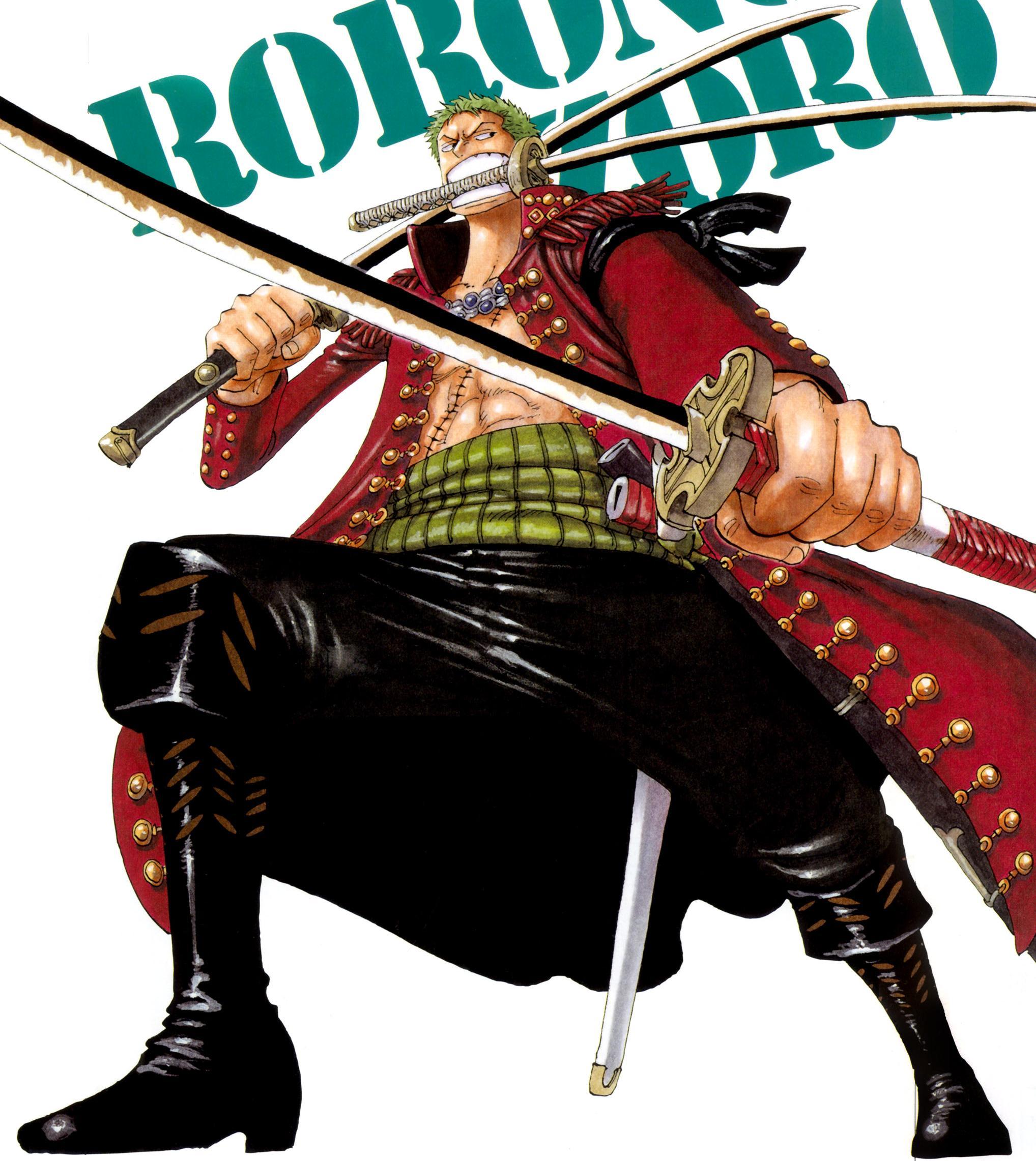 Zoro One Piece: Zoro Color Walk