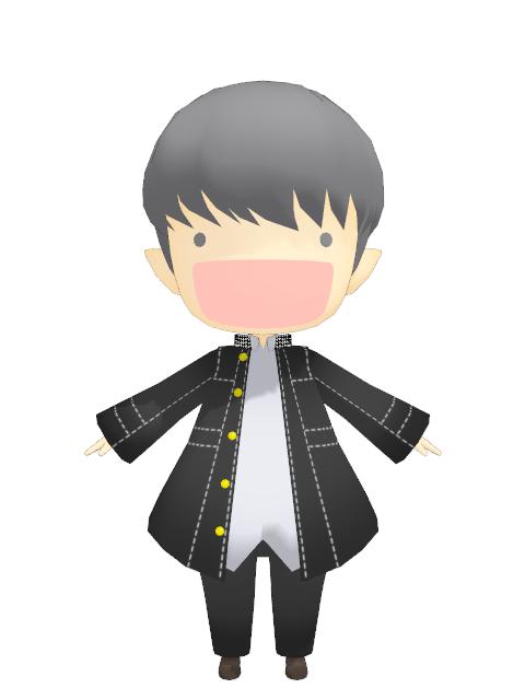 yu narukami model character information chara yu narukami version    Yu Narukami