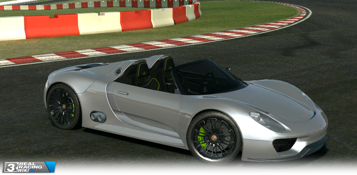 porsche 918 spyder concept real racing 3 wiki. Black Bedroom Furniture Sets. Home Design Ideas