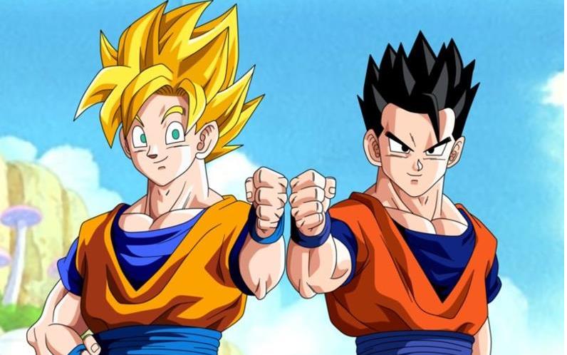 Goku y gohan - Imagui