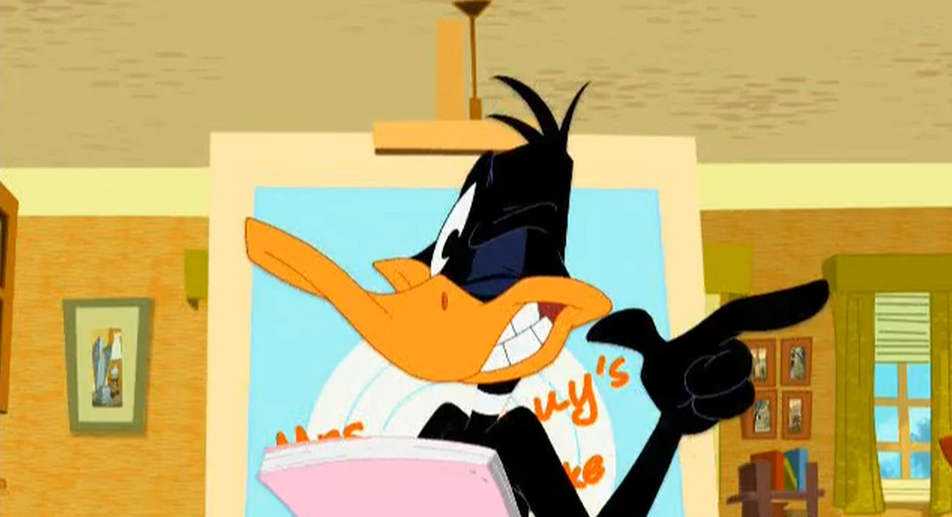 Daffy Duck And Bugs Bunny Show Image - Daffy Duck - M...