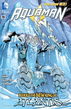 Cover for Aquaman #19 (2013)