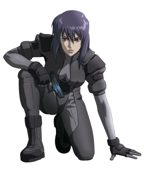 Anime Render 41 Ghost In The Shell Major By