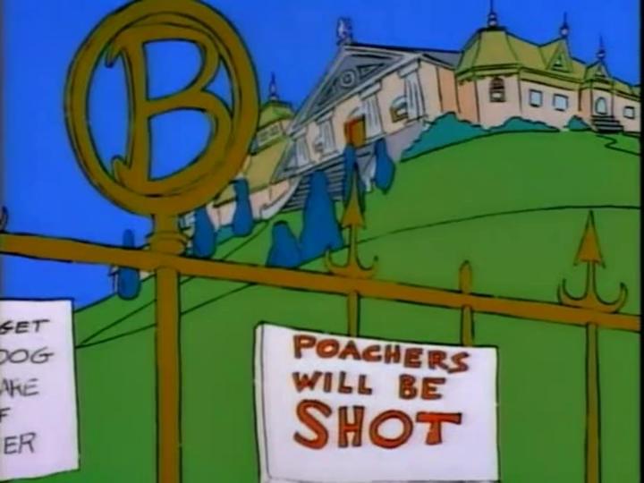 Burns Manor Simpsons Wiki
