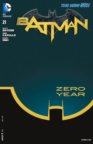 Cover for Batman #21 (2013)