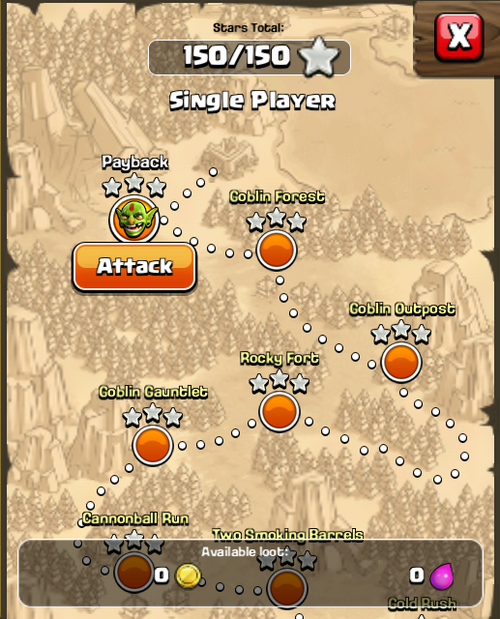how to find a player on clash of clans
