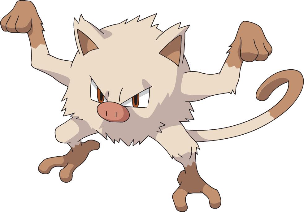 Mankey - Sonic Pokémon Wiki