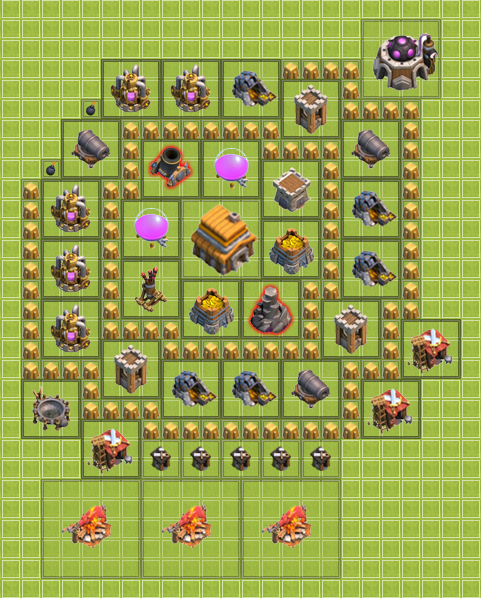 Coc th 5 hybrid basedroid