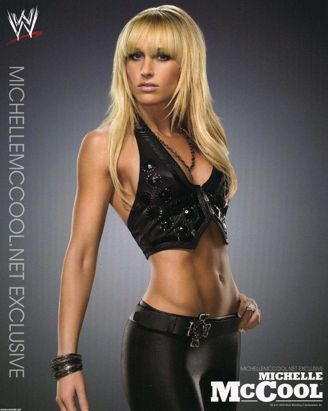 michelle mccool fat picture