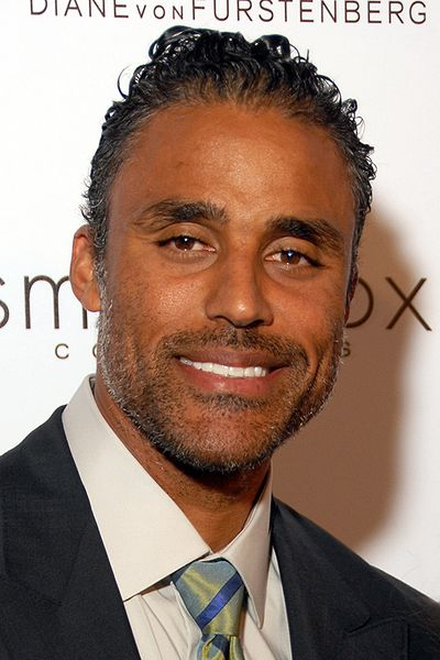Rick Fox attending  quot  Susan G  Komen s 8th Annual Fashion For The Cure    Rick Fox Young