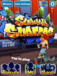 subway surfers holiday also known as subway surfers christmas was the
