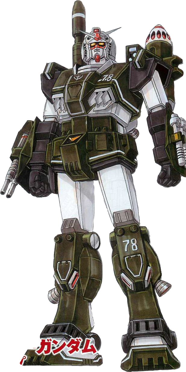 78 Images About Temperance On Pinterest: FA-78[G] Full Armor Gundam Ground Type