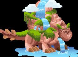 Dragón Cascada