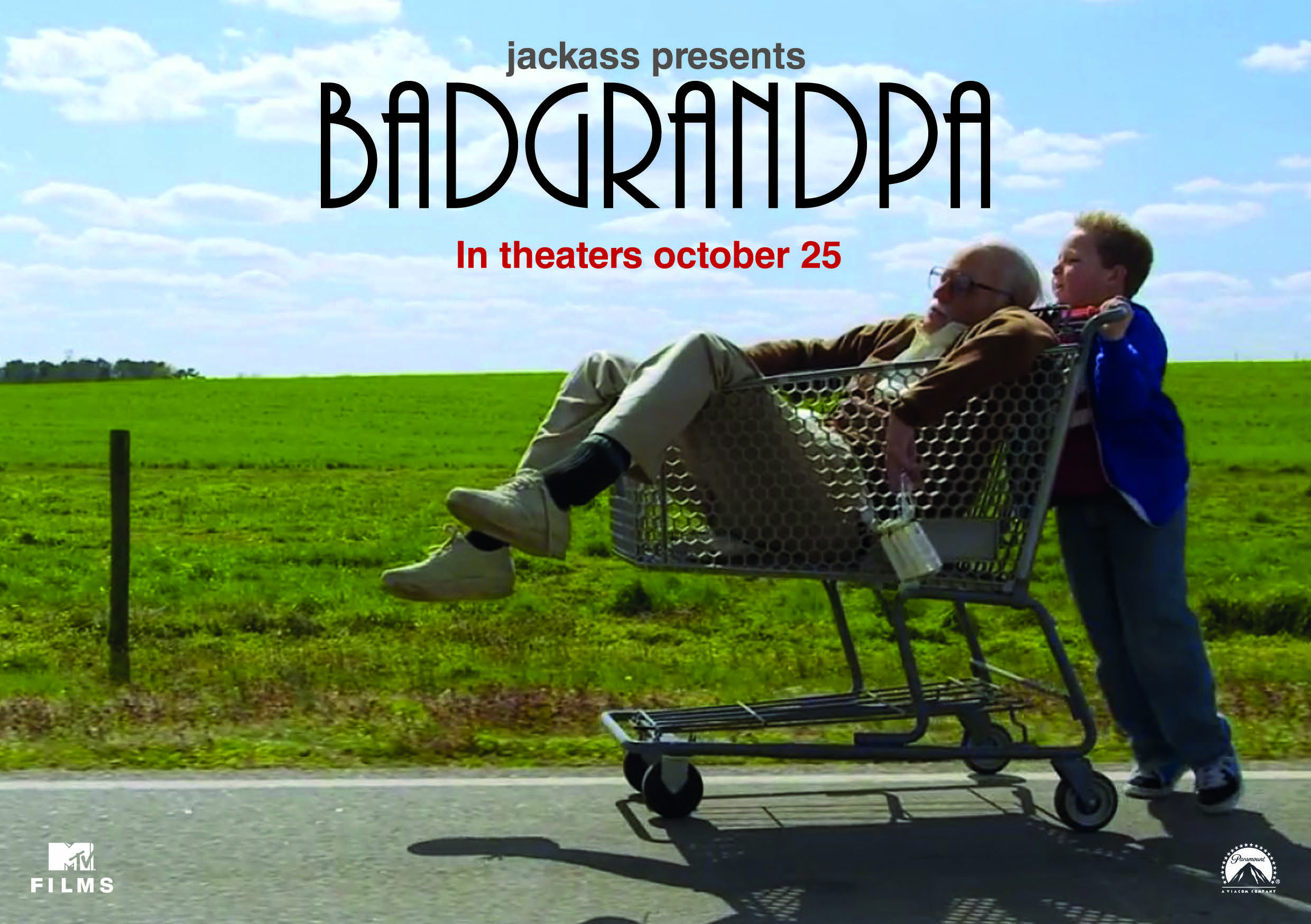 Capa Bad Grandpa US