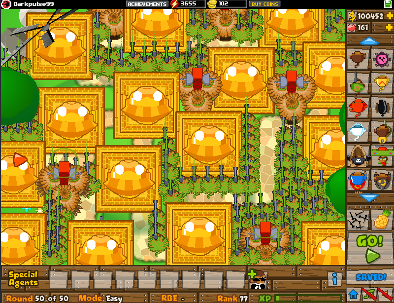 Games latest game from ninja kiwi bloons tower defense 5 bloons td
