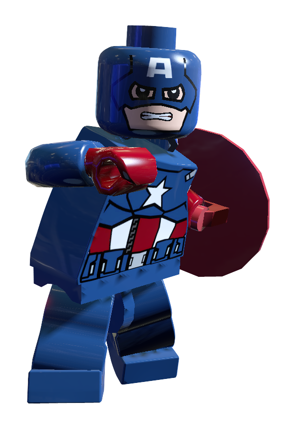 Captain america brickipedia the lego wiki - Lego capitaine america ...