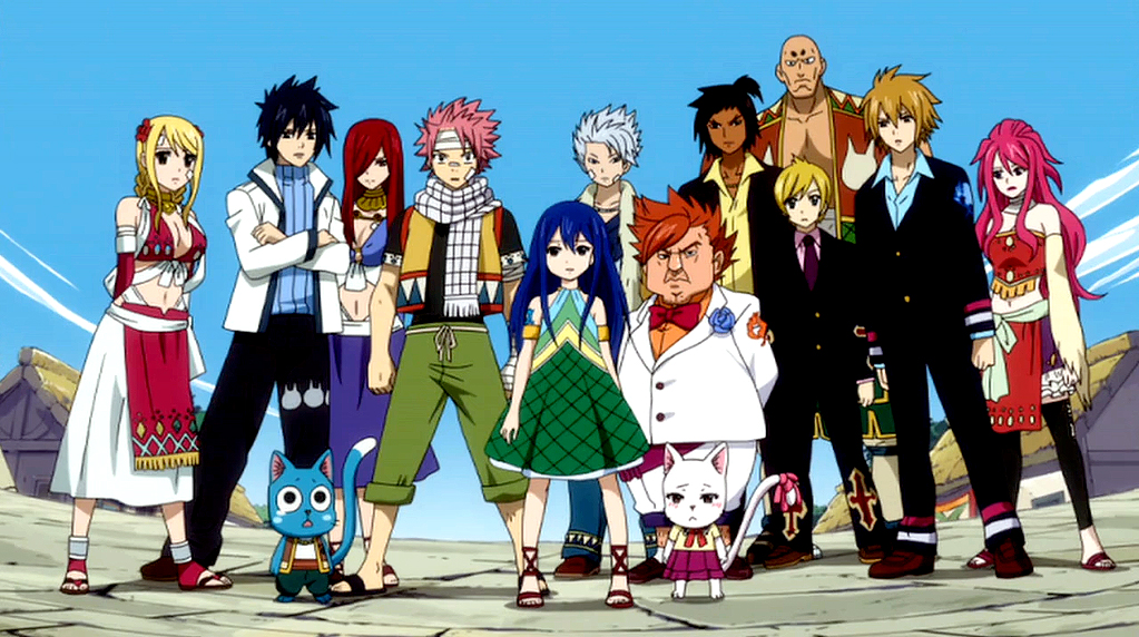Fairy Tail - Magazine cover