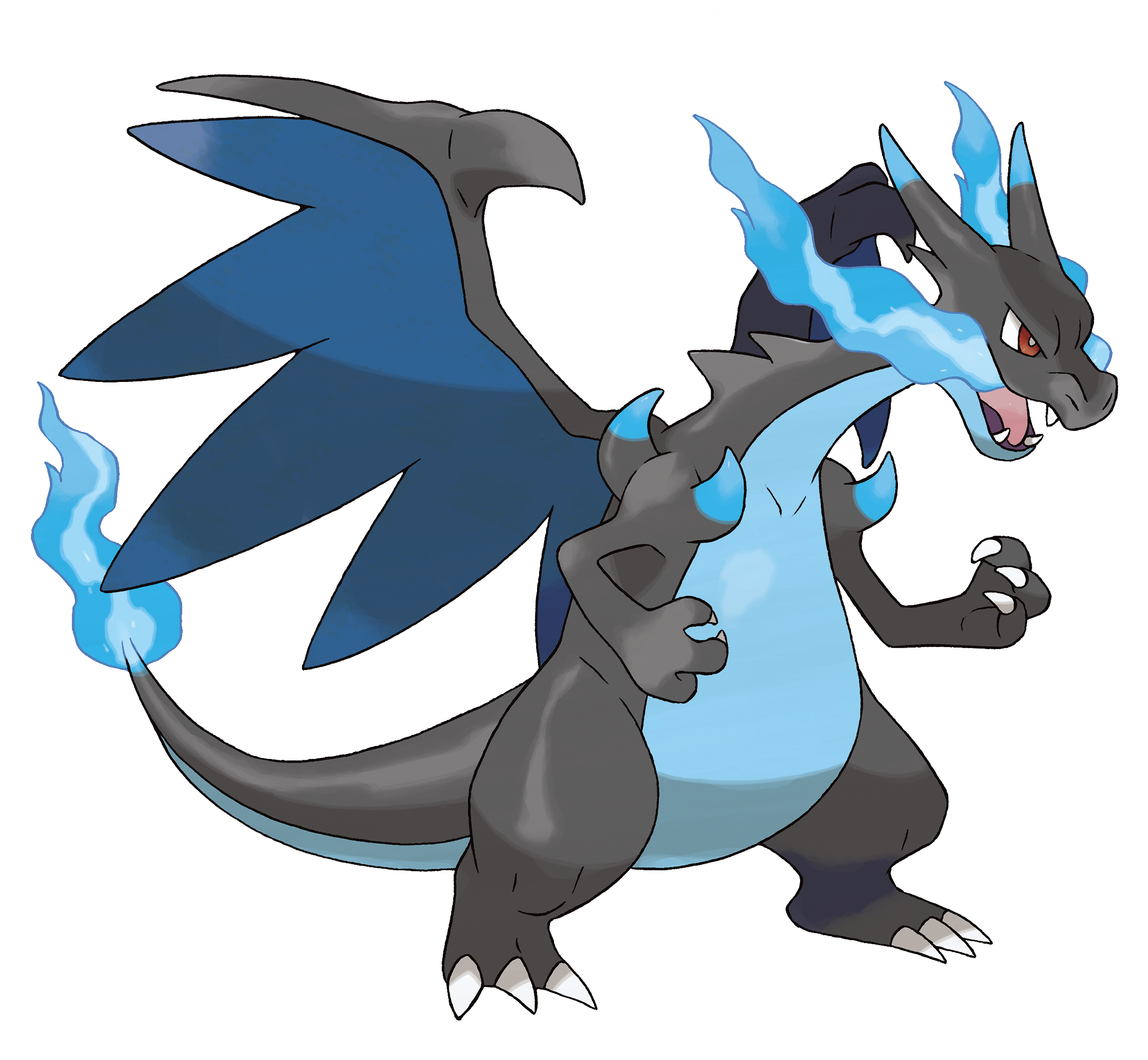 Diferencias entre Pokémon x y Pokémon y Mega-Charizard_X