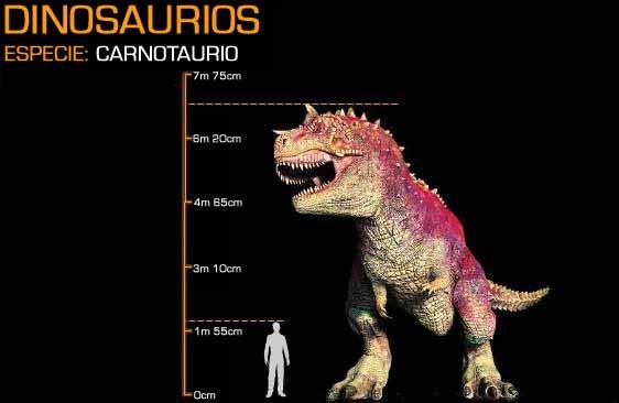 Image - Carnotaurus Size.jpg - Disney Wiki