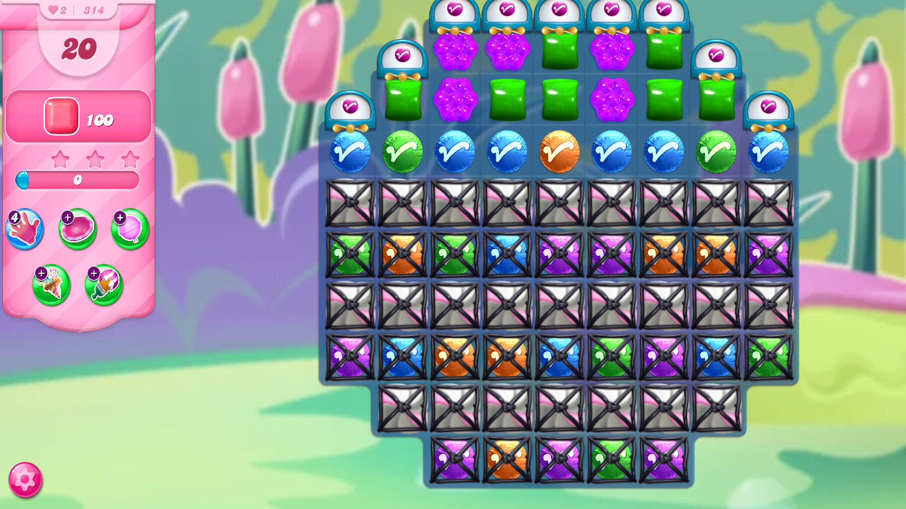 Candy Crush Saga Jelly