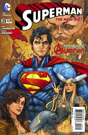 Cover for Superman #23 (2013)
