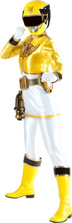 yellow power ranger megaforce - photo #8