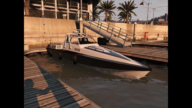 Obtaining a Police Predator Boat + Storage? - GTA V - GTAForums