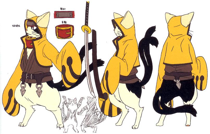 Chat-Nell, le chat Tailleur ! [Validé] Jubei_(Concept_Artwork,_3)