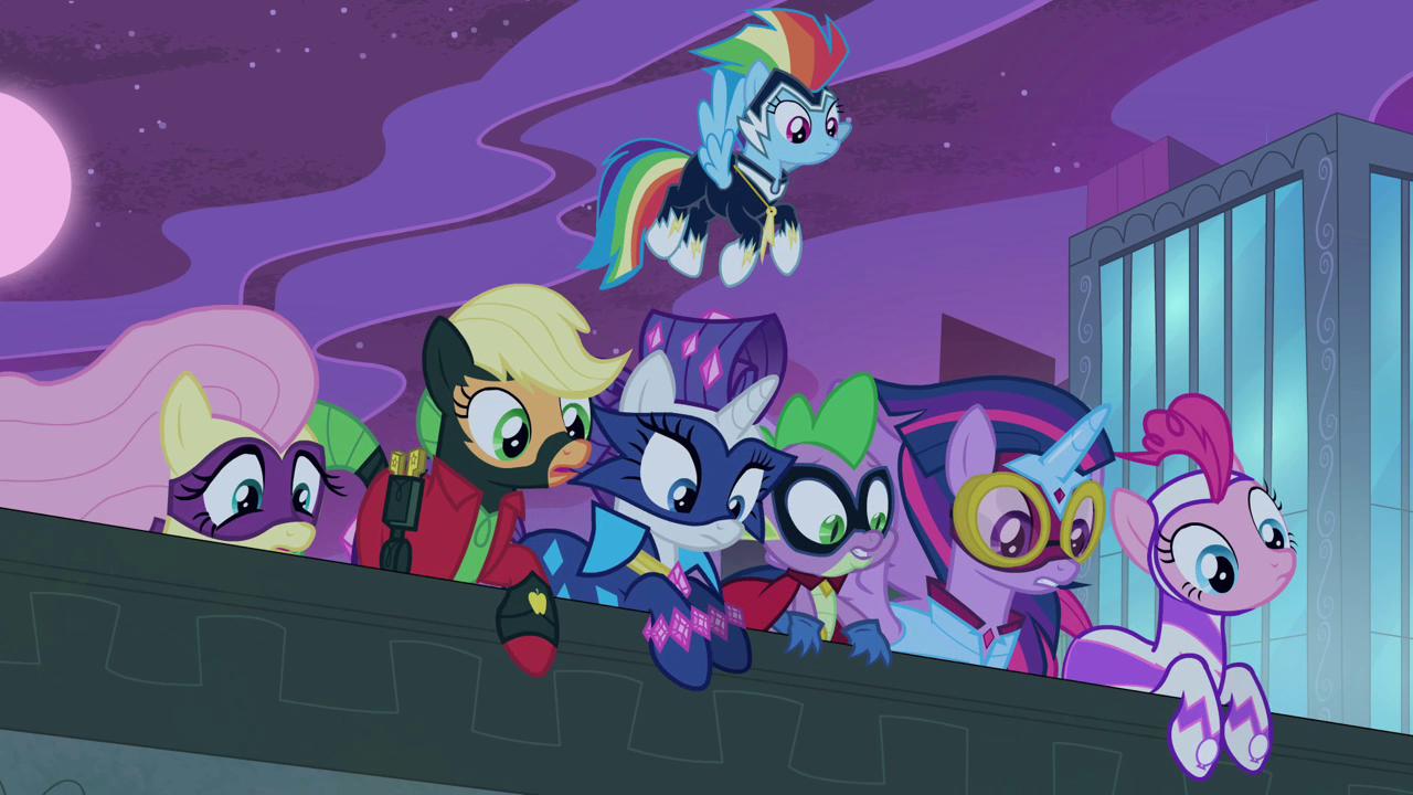 Episode Review Power Ponies Fimfiction