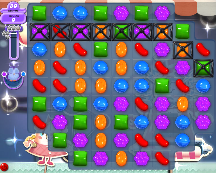 Level 20 (Dreamworld) board (Click to zoom)