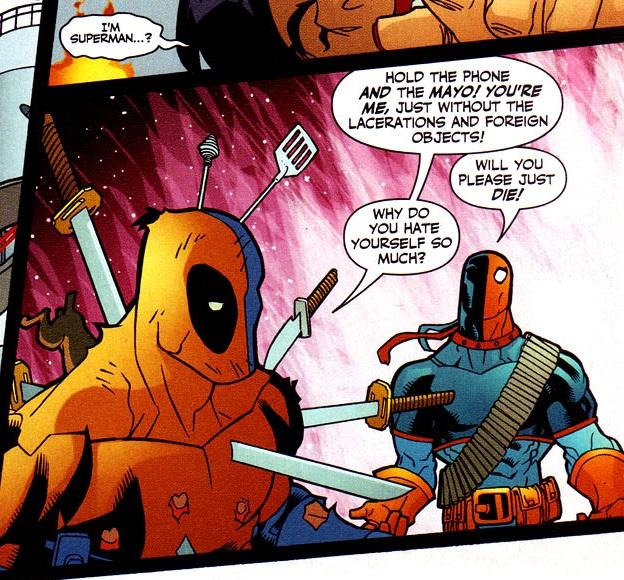 Deathstroke Antimatter Universe Dc Comics Database