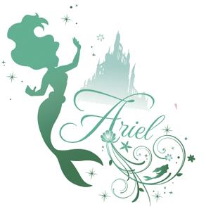 Disney Princess Ariel Silhouettes Image - Silhouette ari...