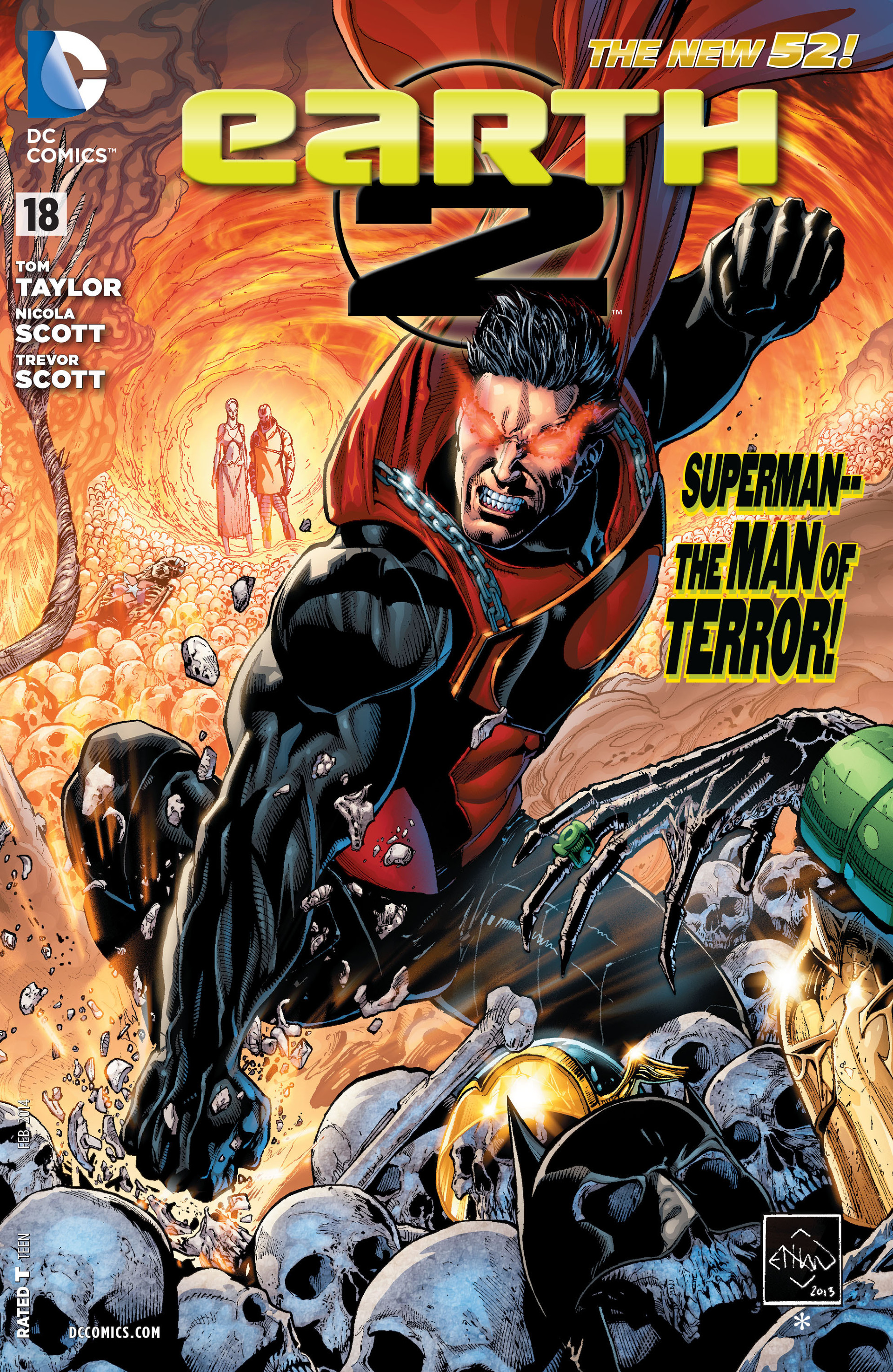 Earth 2 Vol. 2: The Tower of Fate (The New 52) by Robinson, James