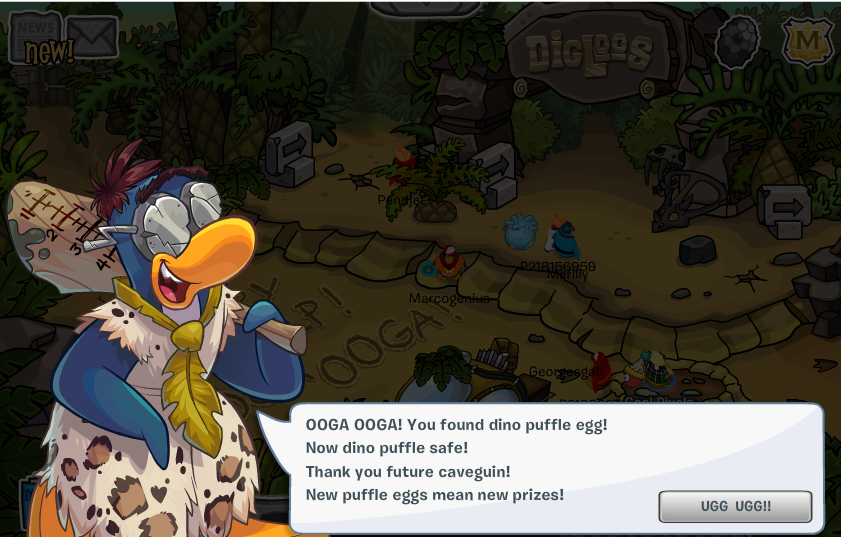 club penguin prehistoric party 2014 gary meet up times