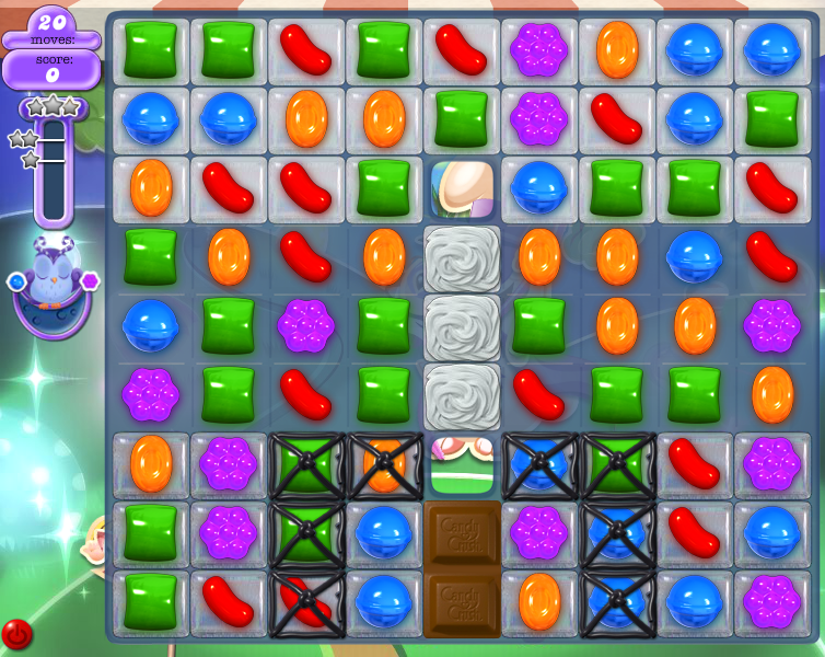 Level 79 board (Click to zoom)